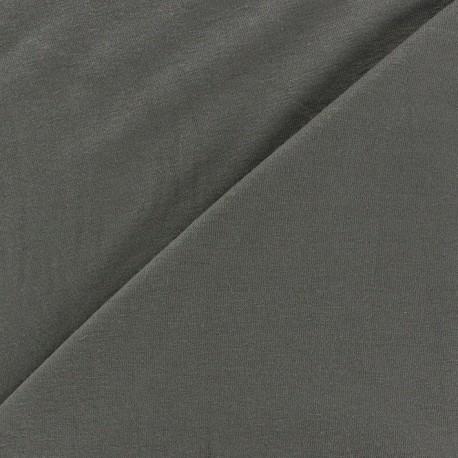 Tissu jersey léger uni blanc x 10cm