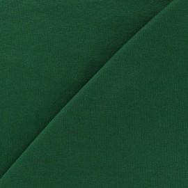 Tissu jersey léger uni vert sapin x 10cm