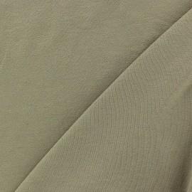 Tissu jersey léger uni grège x 10cm