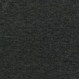 Tissu jersey léger uni gris foncé x 10cm