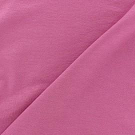 Tissu jersey léger uni orchidée x 10cm