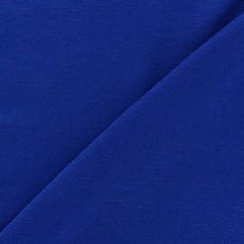 Tissu jersey léger uni bleu navy x 10cm