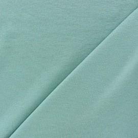 Tissu jersey léger uni bleu givré x 10cm