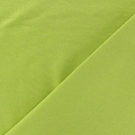 Tissu jersey léger uni anis x 10cm