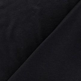 Tissu jersey léger uni gris profond x 10cm