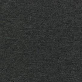 Tissu jersey léger gris foncé chiné x 10cm
