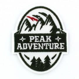 Thermocollant Blason Peak Adventure Vert