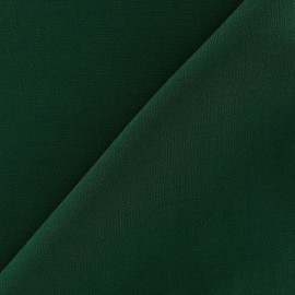 Tissu viscose chemisier vert sapin x10cm
