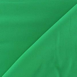 Tissu viscose chemisier vert prairie x 10cm