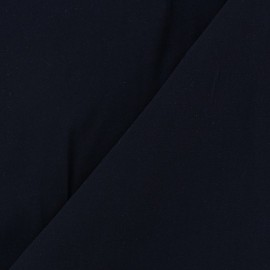 Chemisier Viscose Fabric - Navy Blue x10cm
