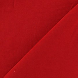 Chemisier Viscose Fabric - Red x10cm