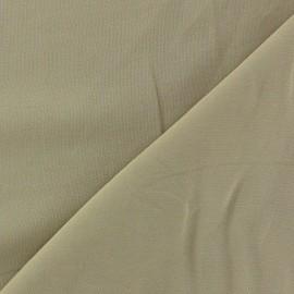 Tissu viscose chemisier beige x 10cm