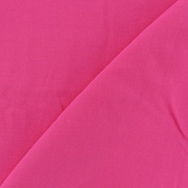Tissu viscose chemisier rose fuchsia x 10cm