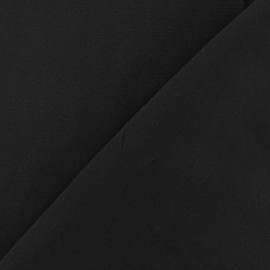 Chemisier Viscose Fabric - Black x10cm