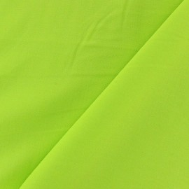Tissu viscose chemisier vert anis x 10cm