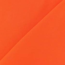 ♥ Only one piece 20 cm X 150 cm ♥ Chemisier Viscose Fabric - Orange