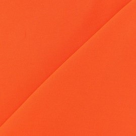 Tissu viscose chemisier orange x 10cm