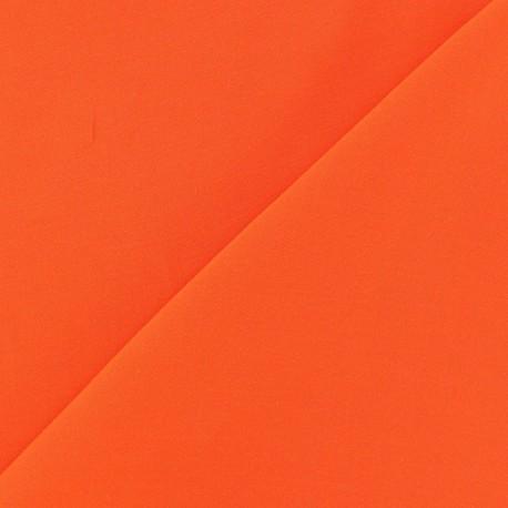 Chemisier Viscose Fabric - Orange x10cm