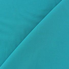 Tissu viscose chemisier turquoise x 10cm