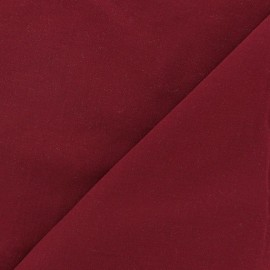Chemisier Viscose Fabric - Dark Red x10cm