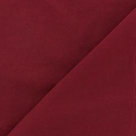 Tissu viscose chemisier bordeaux x 10cm