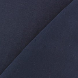 Chemisier Viscose Fabric - Night Blue x10cm