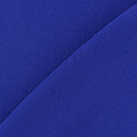 Tissu viscose chemisier bleu nuit x 10cm