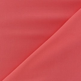 Tissu viscose chemisier corail x 10cm