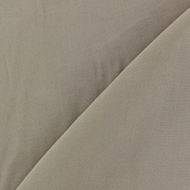 Chemisier Viscose Fabric - Taupe x10cm