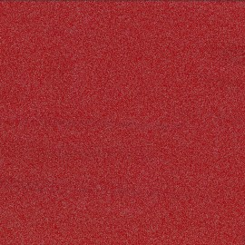 Opaque crystal – red / silver sequin x 10cm