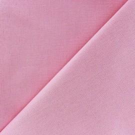 Tissu toile de coton uni CANEVAS Rose x 10cm