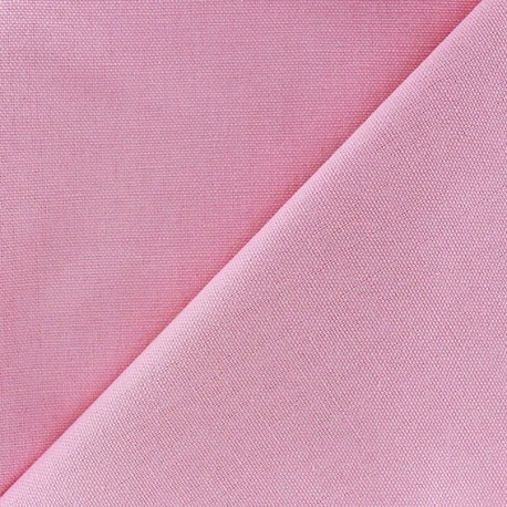 Cotton Canvas Fabric ? CANEVAS Candy Pink x 10cm