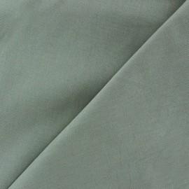 Tissu Coton uni - gris perle x 10cm