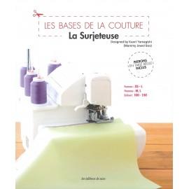 """Livre """"Les bases de la couture: La surjeteuse"""""""