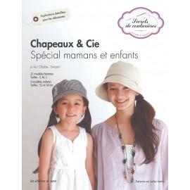 """Livre """"Chapeaux & cie - Spécial mamans et enfants"""""""