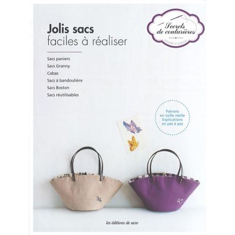 """Livre """"Jolis sacs faciles à réaliser"""""""