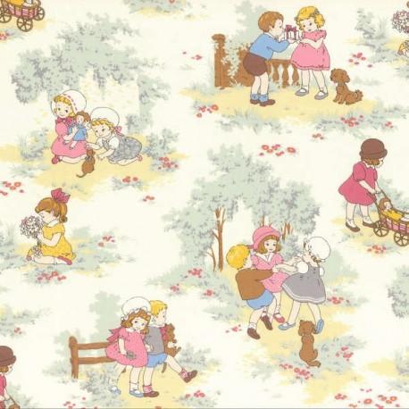 Lecien little Marianne B fabric x 30cm