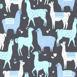 Tissu Packmates Bleu x 10cm