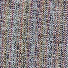 Tissu Tweed Léa bleu x 10cm