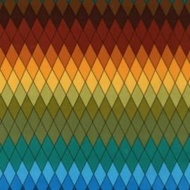 Tissu Harlequin Earth x 10cm