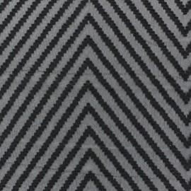 Tissu mousseline plumetis chevron noir x 50 cm