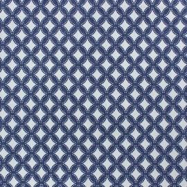 Tissu Jeans Losange élasthanne denim x 10cm