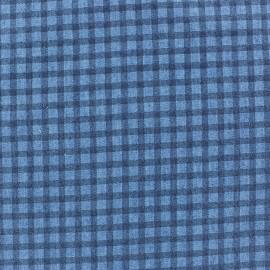 Tissu Jeans fluide abstrait C x 10cm