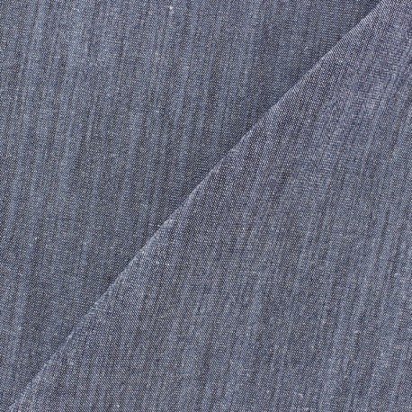 Linen Fabric - Wallin Navy x 10cm