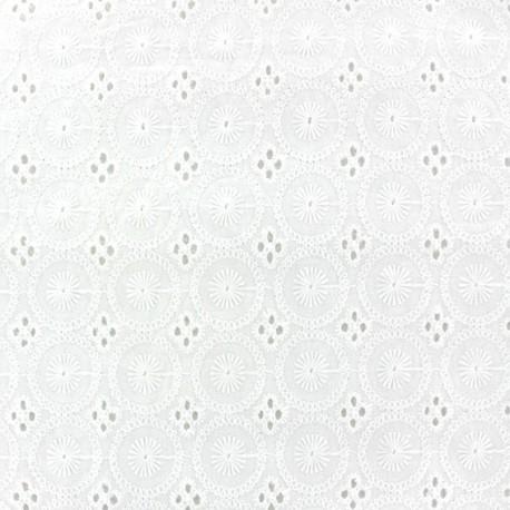 Aske B Openwork Cotton Fabric x 10cm