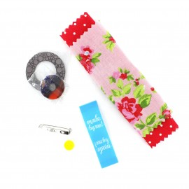 Brooch Kit - red