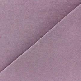 Tissu jersey uni Orchidée x 10cm