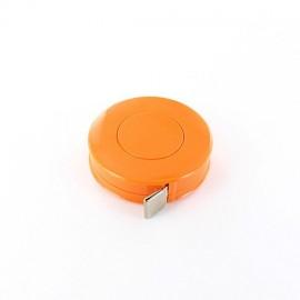 Mètre ruban enrouleur orange