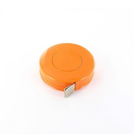 Retractable measure tape - orange