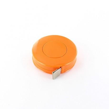 Retractable measure tape - orange